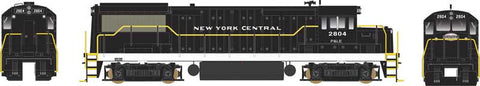 Bowser 24548 HO New York Central/PLE U-25B Diesel Loco Standard DC #2807