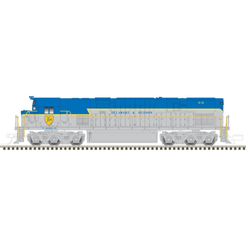 Atlas 40003573 N Delaware & Hudson C-628 Diesel Locomotive #614 - LokSound/DCC