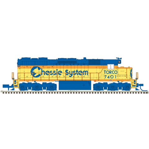 Atlas 40003741 N Chessie System Gold Torco SD35 with Sound #7801