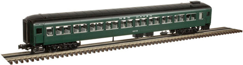 "Atlas 2002954 O New Haven Pullman Bradley Passenger Cars (""401 Green""/White)"