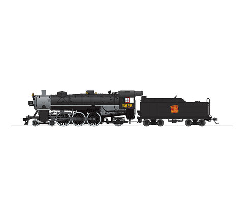 Broadway Limited 5608 HO Grand Trunk Western Light Pacific 4-6-2 #5631