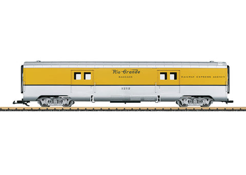 LGB 36576 G Denver & Rio Grande Baggage Car
