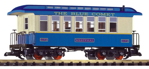 Piko 38620 G Blue Comet Wood Coach #1172