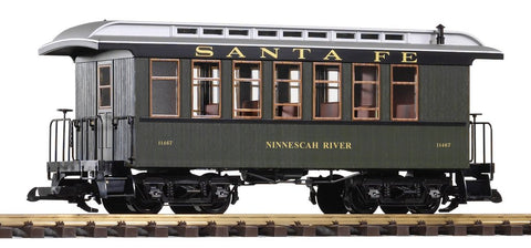 Piko 38628 G Santa Fe Wood Coach Green #11467
