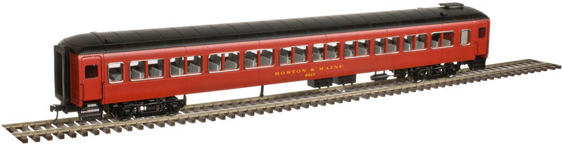 Atlas 2002951 O Boston & Maine Pullman Bradley Passenger Cars (Maroon/Gold)