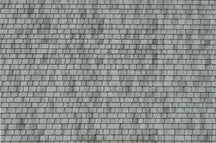 Northeastern Scale Lumber HOSHG7B1 HO Shingle/Gray Random - 1/Bag