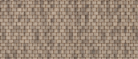 Northeastern Scale Lumber HOSHG6B1 HO RF Shingle - Sand Slate
