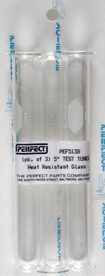 Perfect P513B Test Tubes and Culture Tubes 15 mm x 125 mm (3)