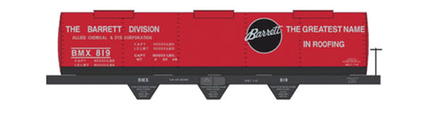 Tichy 10014 HO Barrett Tank Car Railroad Decal Set