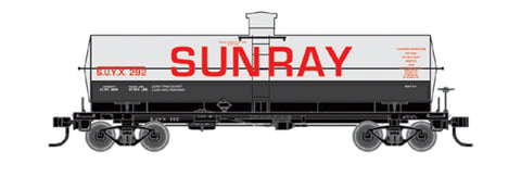 Tichy 10043 HO Sunray SUYX 10,000-Gallon LPG Tank Car Railroad Decal Set