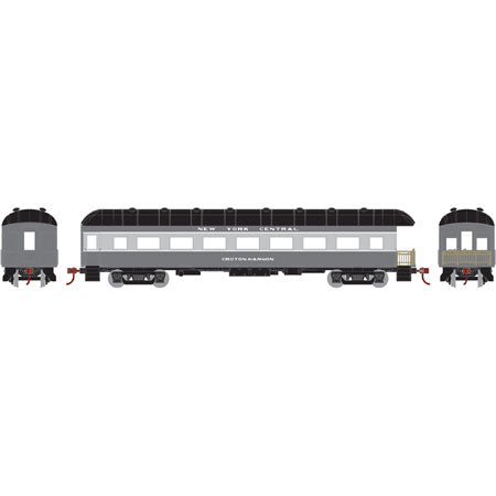 Athearn 86649 HO New York Central/Croton-Harmon Arch Roof Observation Ready-To-Run