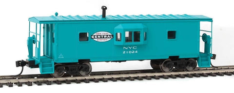 Walthers 910-8668 HO New York Central International Bay Window Caboose Ready to Run #21024