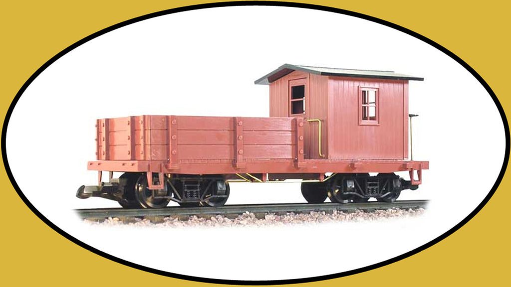 Hartland 05003 G Undecorated Work Caboose