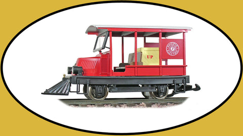 Hartland 09213 G Pacific Electric Rail Car Woody Red