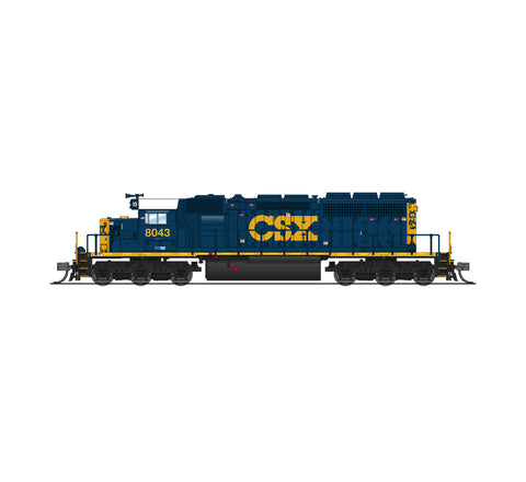 Broadway Limited 3711 N CSX EMD SD40-2 Diesel Loco Paragon3 Sound/DC/DCC #8043