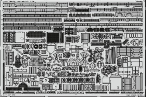 Eduard 53227 1:350 Ship- CVN65 Enterprise Part 3 for Tamiya