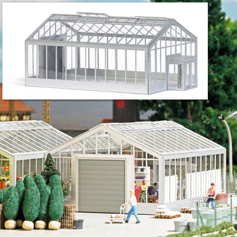 Busch 1547 HO Greenhouse / Garden Center