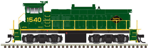 Atlas 10002867 HO Reading & Northern MP15DC Locomotive (Green/Yellow) #1543