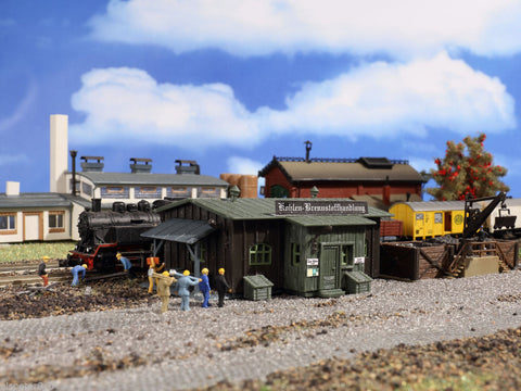 Vollmer 47554 N Coaling Station/Depot Kit