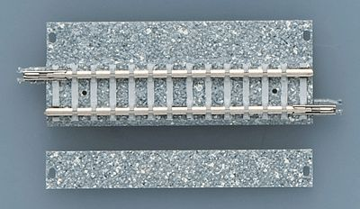 "TomyTec 1734 N Wide-Roadbed PC Straight S70-WP (Fine Track) 2-3/4"" (70mm)"