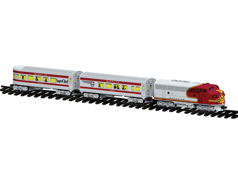 Lionel 7-11913 G Santa Fe Diesel Passenger Ready-To-Play Set