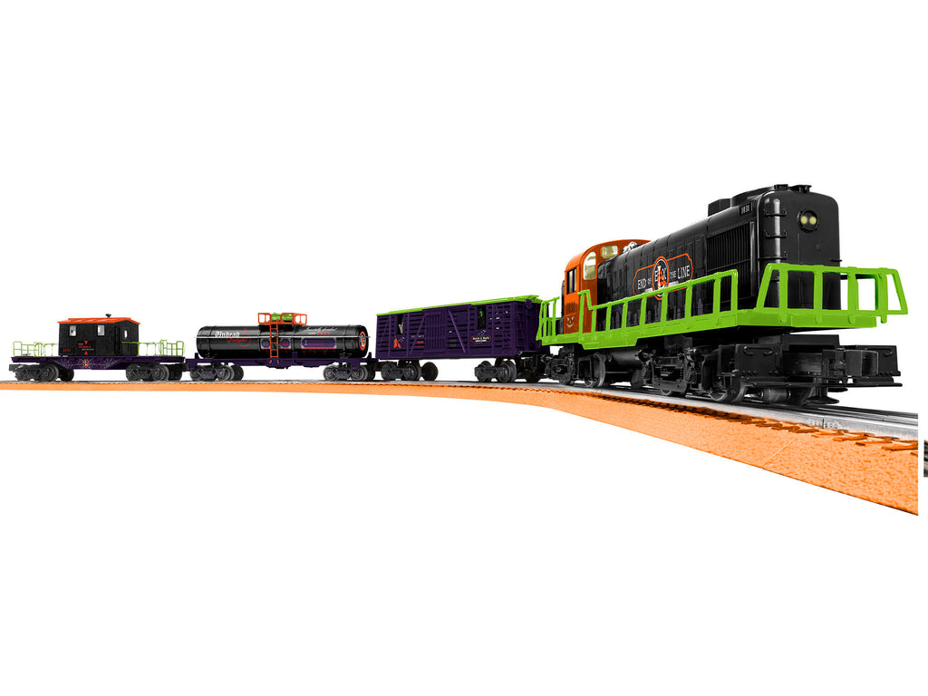 Lionel 6-85253 End of Line Express LionChief O Gauge Train Set with Bluetooth