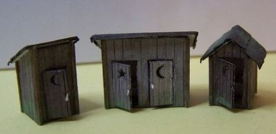 RS Laser Kits 5010 S Outhouses (3)