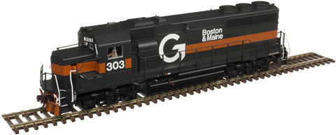 Atlas 10002577 HO Guilford Rail System (B&M) GP40-2 Diesel Locomotive Silver Series #301