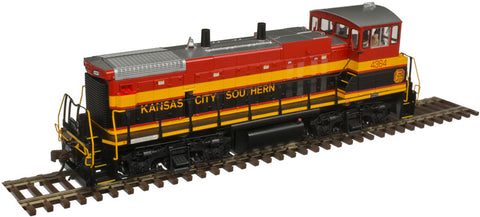 Atlas 10002869 HO Kansas City Southern MP15DC Diesel Locomotive Silver Series #4364