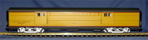"USA Trains R310502 G UP ""City of Los Angeles"" Baggage (Yellow/Gray)"