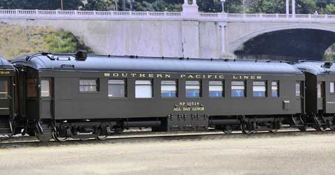 The Coach Yard 962 HO Southern Pacific Har All Day Lunch, SPL