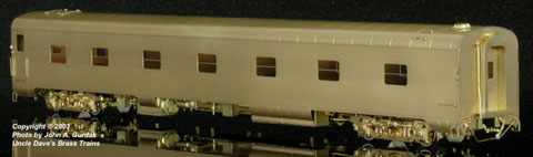 The Coach Yard 1170 HO Southern Pacific LW Sleeper, 13 Double Bedroom