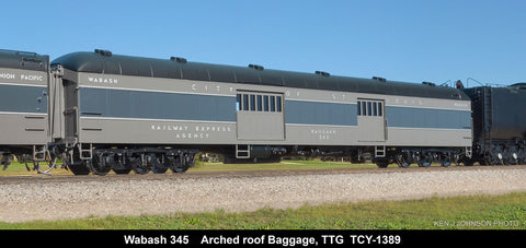 The Coach Yard 1389 HO Union Pacific Two Tone Gray Car 1946 CoStL Set (8)