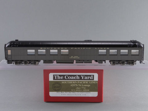 The Coach Yard 915.1 HO Southern Pacific Har Lounge, d/o, SPL 75-L SPL 2975