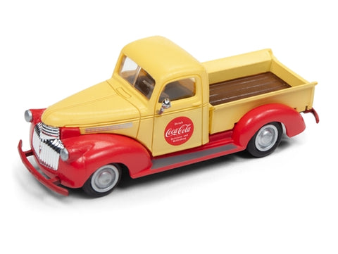 Classic Metal Works 30515 HO 1941-1946 Chevrolet Pick Up Coca Cola