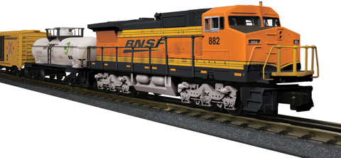 MTH 30-4247-1 O Burlington Northern Santa Fe Dash-8 RTR Set with Sound