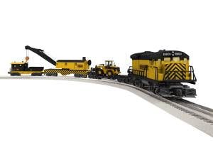Lionel 6-84737 O Lioncheif Construction U36B Diesel Set with Bluetooth