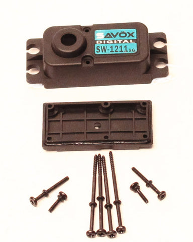 Savox SCSW1211SG Top and Bottom Servo Case with Screws for SW1211SG