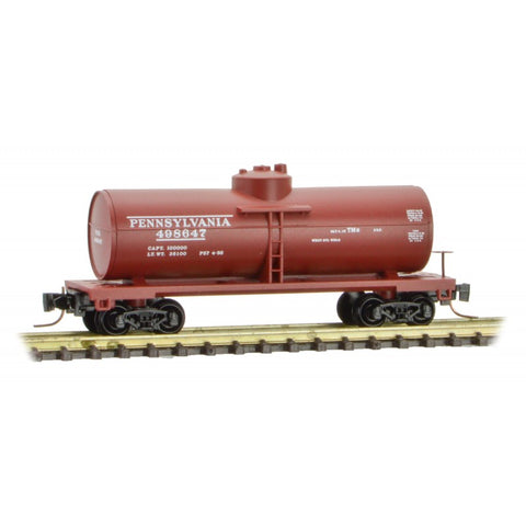 MicroTrains 53000481 Z Pennsylvania 39' Single Dome Tank Cars #498647