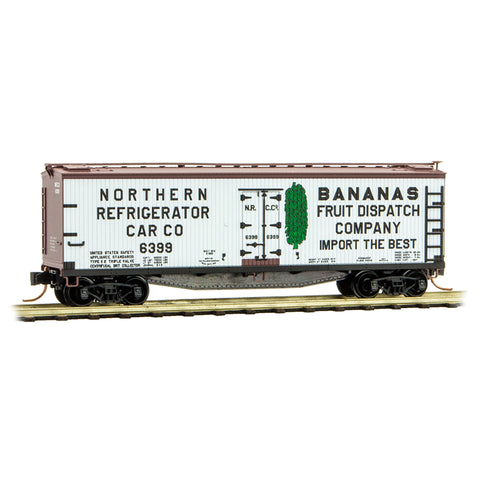 MicroTrains 04900780 N NRCC 40' Double-Sheathed Wood Reefer #6399