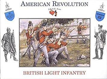 A Call to Arms 32 1:32 Revolutionary War- British Light Infantry (16)