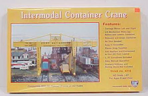 International Hobby Corp 4310 IHC 4310 HO Scale Intermodal Container Crane Building Kit