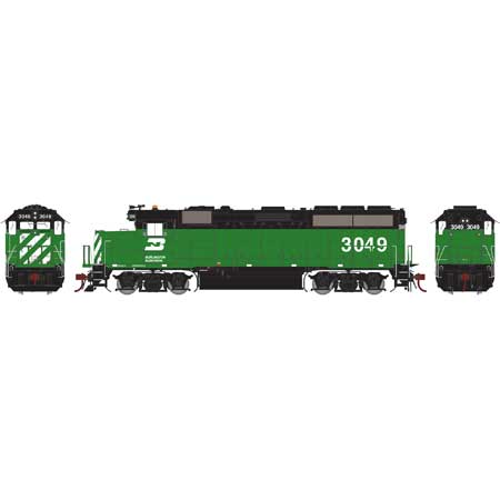 Athearn G65653 HO Burlington Northern GP40-2 #3049