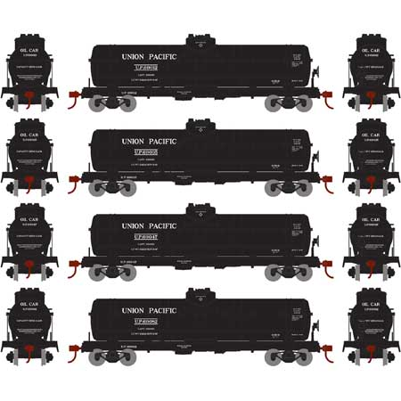 Athearn 72972 HO Union Pacific 1-Dome Tank #1 (4)