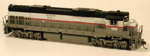 Bowser 23567 HO Alco Demonstrator C-636 Locomotive #636-1