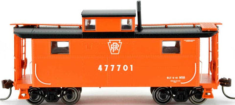 Bowser 41693 HO Pennsylvania N5 Caboose (Keystone Focal Orange) #477701