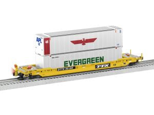 Lionel 6-85067 O TTX Husky Stack with End of Train Device