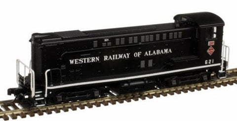 Atlas 40003663 N Western Railway of Alabama VO-1000 Diesel Locomotive #624
