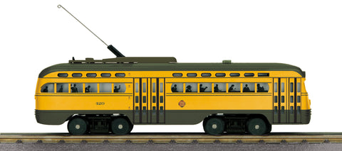 MTH 30-5154-1 O PCC Electric Street Car With Proto-Sound 3.0