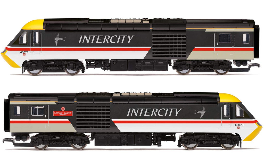 Hornby R3602TTS OO BR Intercity Class 43 HST, 'Valenta' Powered Train Pack